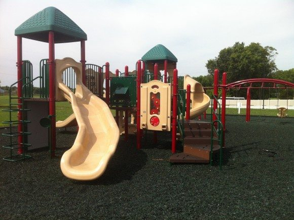 """The """"Big Kids"""" play set for ages 5+ at William Wilt Soccer Complex."""