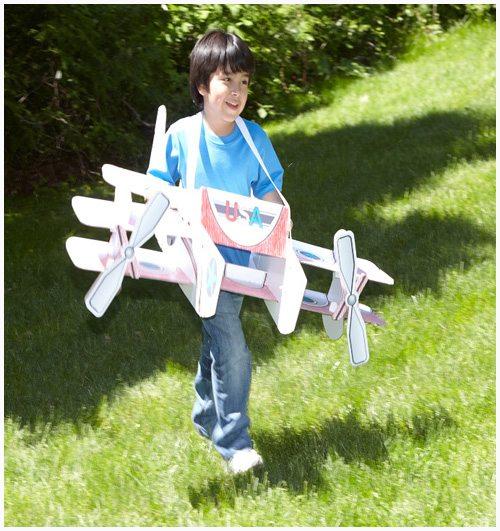 Wearable stunt plane