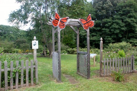 Smithville Park Butterfly Garden is a beautiful park for ourdoor family fun in Burlington County.