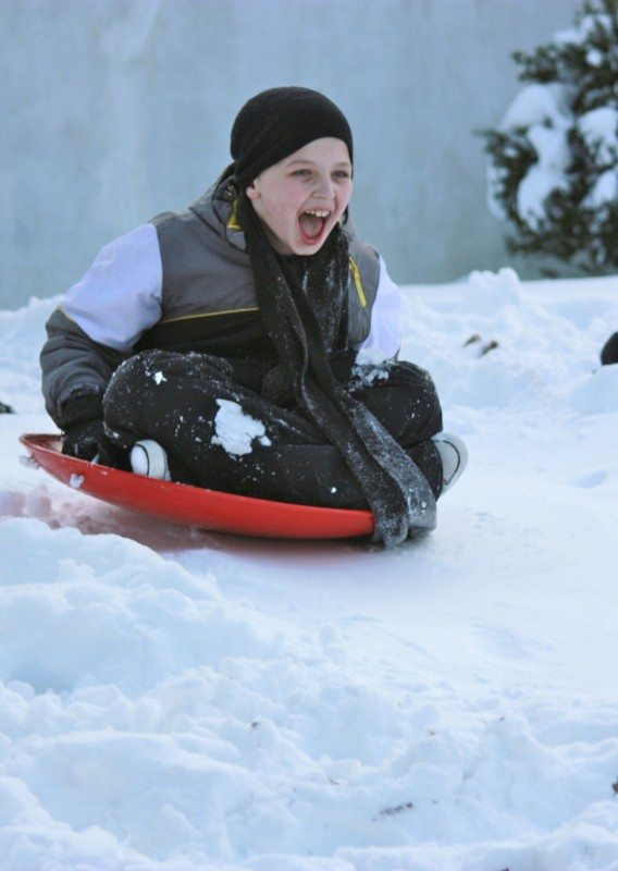 sledding hills in New Jersey