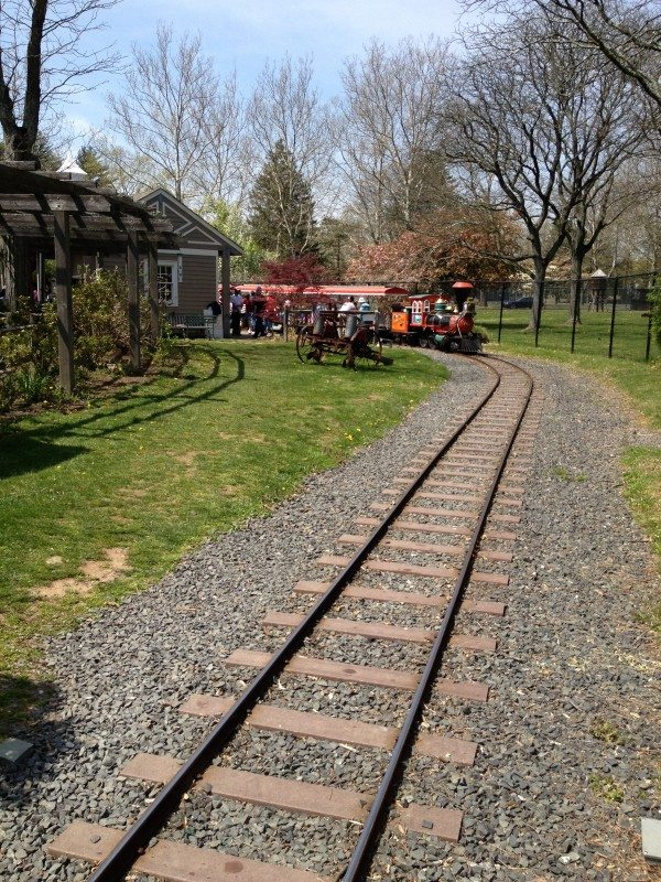 Bergen County Zoo train