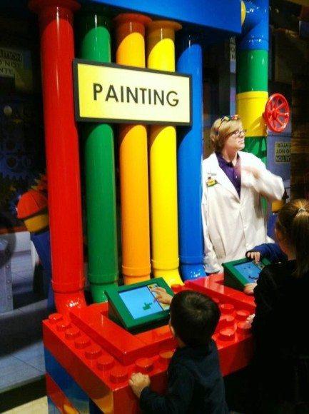 Legoland factory