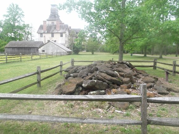 Ore Pile at Historic Batsto Village