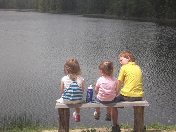 The Lake at Batsto Village, breath taking.