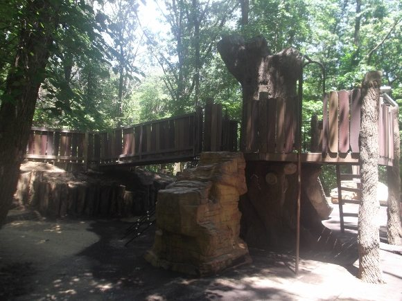 The other side of the Tree house, it's super cool!