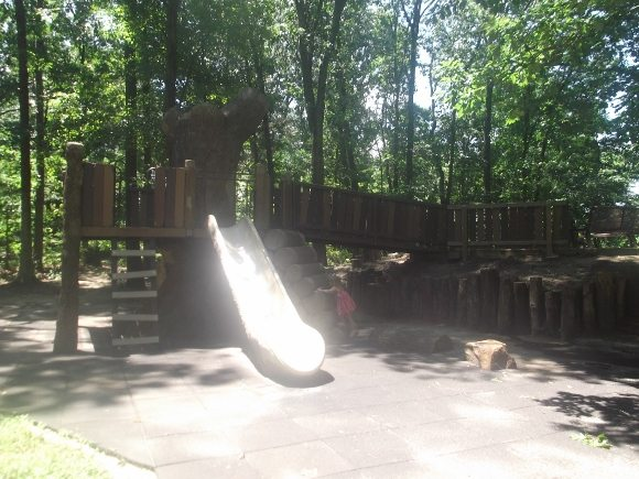 Timber Creek Park Tree house for the kids.