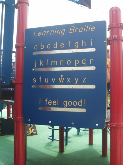 Learn braille with this cute abc board!