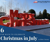 6 Fun Ways to Celebrate Christmas in July in New Jersey