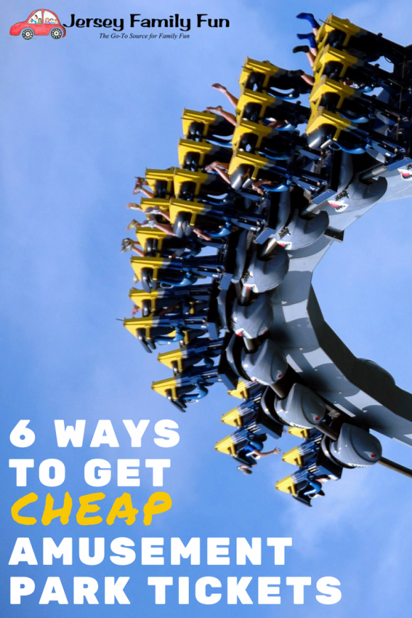 6 WAYS TO GET CHEAP AMUSEMENT PARK TICKETS - PIN