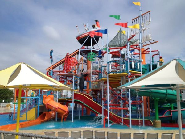 Breakwater Beach Waterpark in Seaside Heights, New Jersey