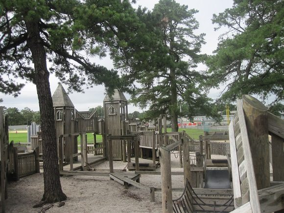 Castle Playground in Egg Harbor Township Atlantic County New Jersey Atlantic County Parks & Playgrounds
