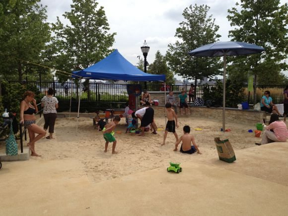 Children's play beach