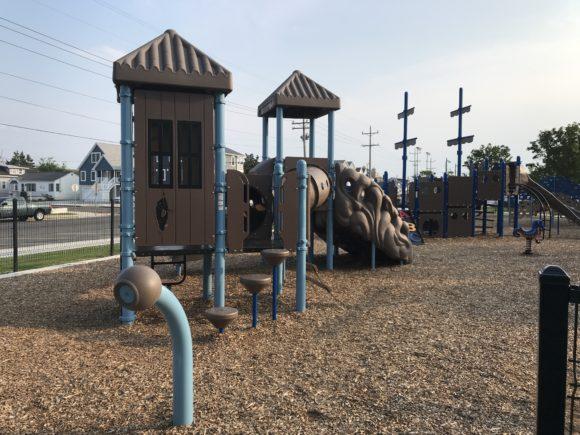 Albert I. Allen Memorial Park in North Wildwood