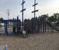 Albert I Allen Memorial Playground in North Wildwood