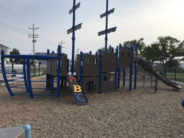 Albert I Allen Memorial Playground in North Wildwood