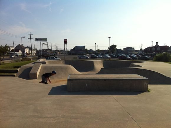 North Wildwood skateboard park at Allen Memorial Park