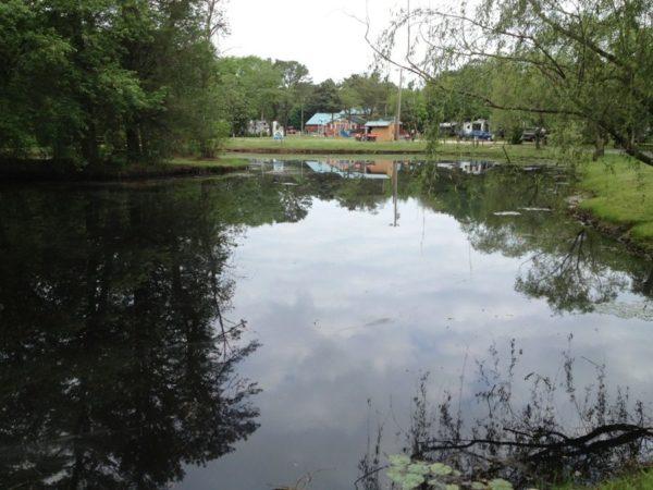 Sea Pirate Campground Fishing Pond