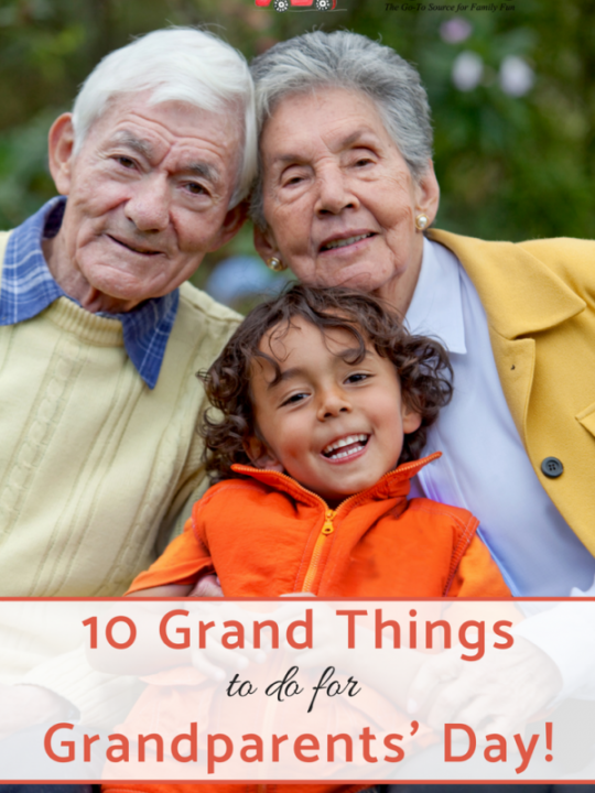 10 Grand Things to do for Grandparents Day - Pin