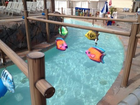 Breakwater Beach Waterpark Lazy River