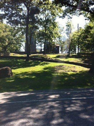 Back views of Lambert Castle