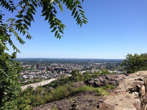 Amazing panoramic views of northern New Jersey and New York City