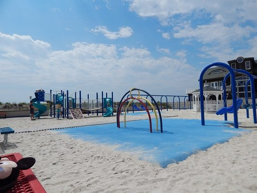 33rd Avenue Longport playground in Longport, Atlantic County New Jersey