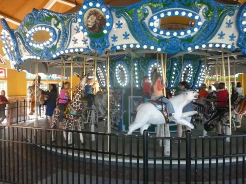 Take a ride on the carousel!