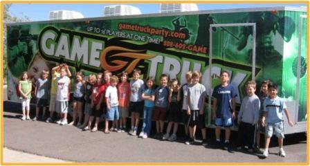 GameTruck truck wrap