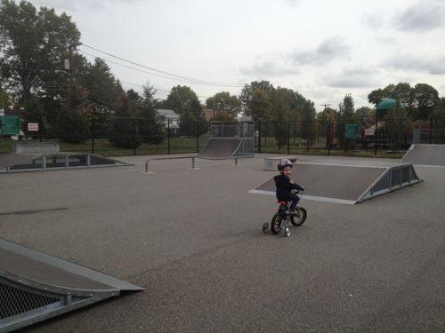 Skate Park at Peter J. Esposito Park, Clark.
