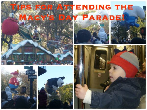 Tips for attending the Macy's Day Parade