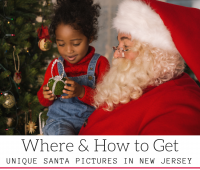 Where & How to Get UNIQUE SANTA PICTURES in New Jersey