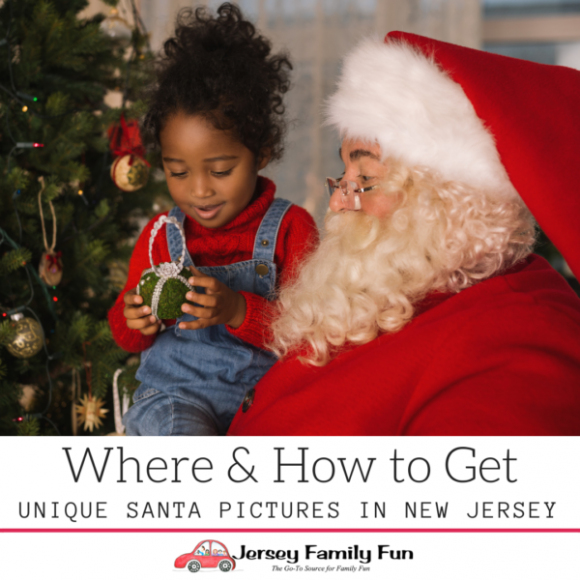 Where & How to Get UNIQUE SANTA photos in New Jersey