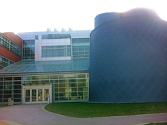 Edelman Planetarium in South Jersey is located directly inside Science Hall at Rowan University