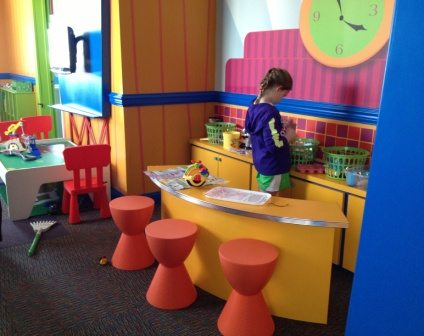 One of the playspaces at the Ronald McDonald House of Southern New Jersey.