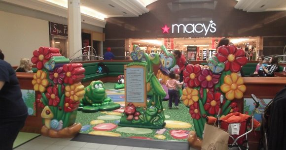 The Secret Garden At Moorestown Mall Burlington County Indoor Play Areas Jersey Family Fun
