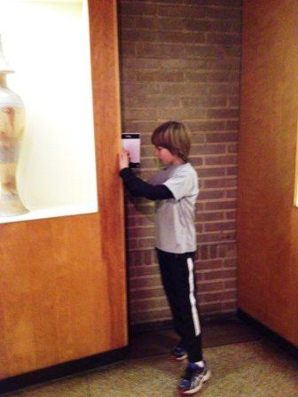 40 Winks Penn Museum taking notes