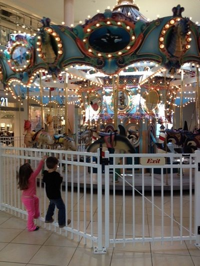 Carousel at the hamilton mall