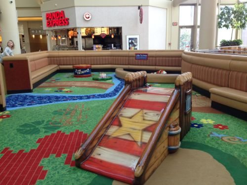 """Play Area for children up to 42"""""""