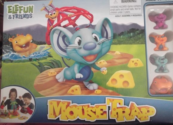 Mouse Trap was fun for all my kids!!!