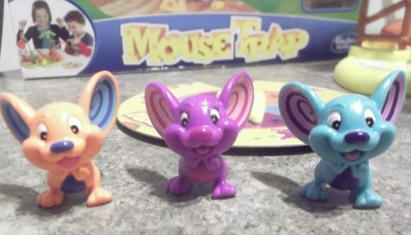 Meet Nacho Mouse, Pepper Mouse & Sneaker Mouse. Which one will your child choose?