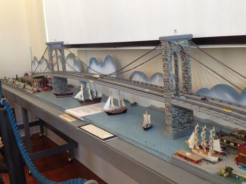 Brooklyn Bridge model