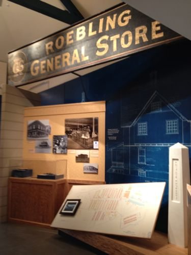 Artifacts from the town of Roebling