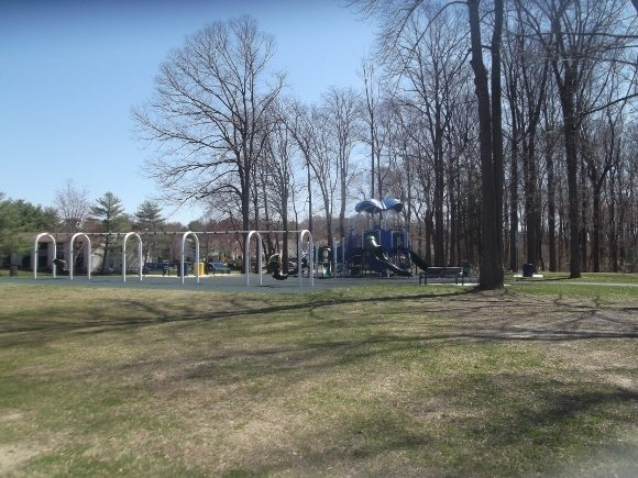 Beautiful Park located across from Gloucester Township Recreational Center