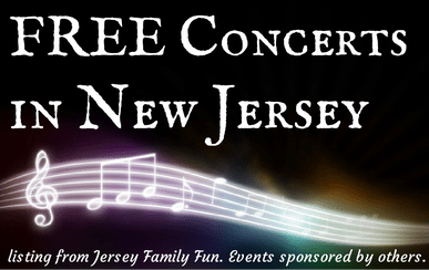 Free concerts in New Jersey