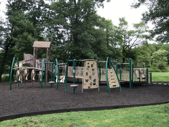 The preschool playground at The Loop in Mountainside.