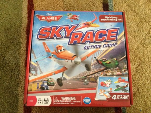 Disney Planes Sky Race Action Game is a fun and interactive game for children ages 4 and up, and can be played with 2-4 players.