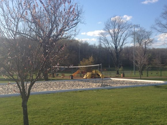 Freedom Park offers a great volleyball court that is perfect for games and playing in the sand!