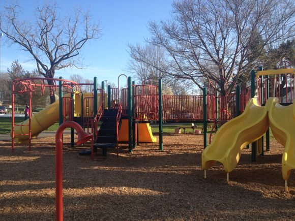 Freedom Park in Randolph offers an amazing playground for kids of all ages to enjoy!