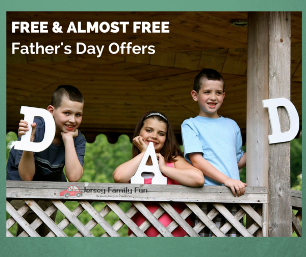 free & Almost Free father's day deals, Father's Day specials Fabulous Father's Day Offers in New Jersey