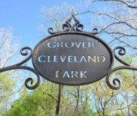 Grover Cleveland Playground Entrance